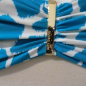 MICHAEL Michael Kors Swim - Michael by MICHAEL KORS Print Bikini Top, Small